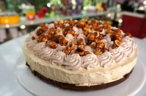 Cheesecake Cappuccino. Συνταγή: Βαγγέλης Δρίσκας. #cheesekake