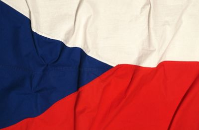 Czech Culture in Photos - Photo Gallery of Czech Culture: Flag of the Czech Republic