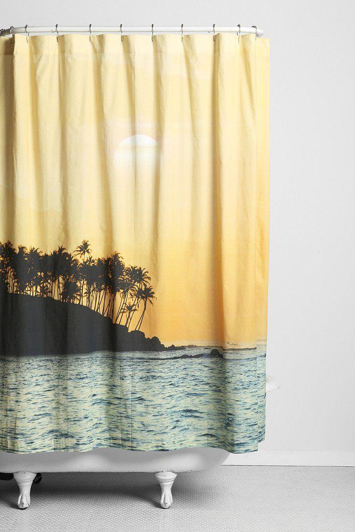 Magical Thinking Sunset Beach Shower Curtain New Apartment Pinterest Beach Shower