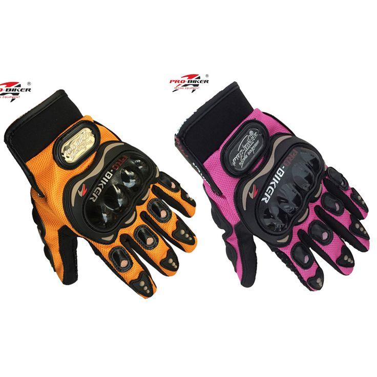 PRO Biker Professional full finger sport pink women motorcycle gloves Moto Mujer Luva Motoqueiro moto Racing female Gloves