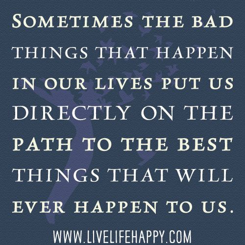 Sometimes The Bad Things.yes