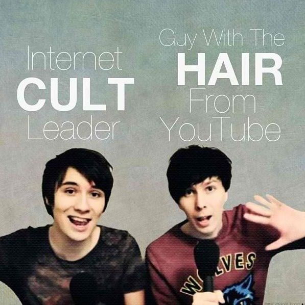If you're a fan of Dan and Phil, call them this to sound like a geek even more then you do when you talk YouTube to people.