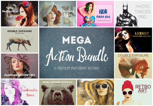 The Mega Action Bundle with 12 Premium Items – Only $25