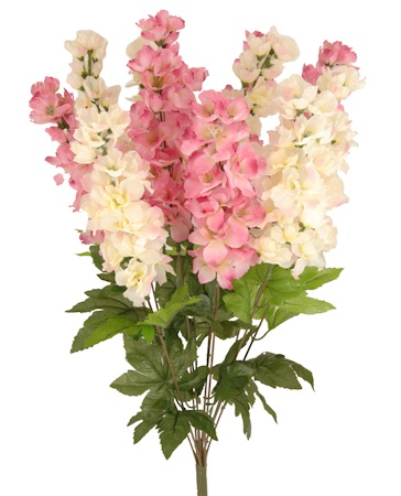 "DELPHINIUM BUSH 24"" :: Bushes :: Spring & Summer 2013 Collection :: Silk Flowers 