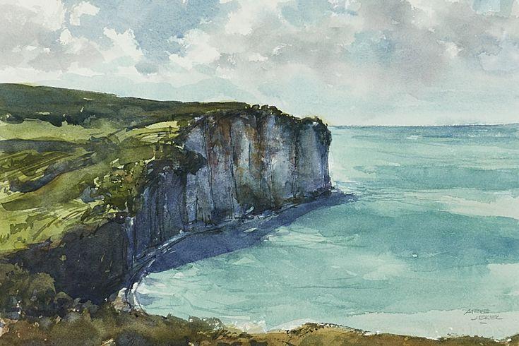 Arie Jekel | Normandy | Watercolor