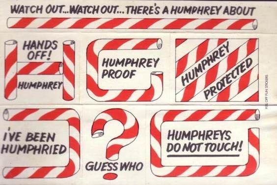 Humphrey straws ... a marketing campaign for Unigate Milk - I was actually terrified by this advert!