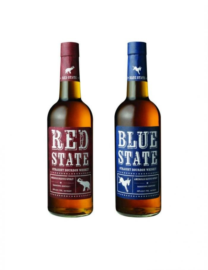 Political Party Bourbon For Your Election Night Party.  Oh my, this is so right on so many levels.  Must find the red, white and blue dipped 2008 election Maker's.