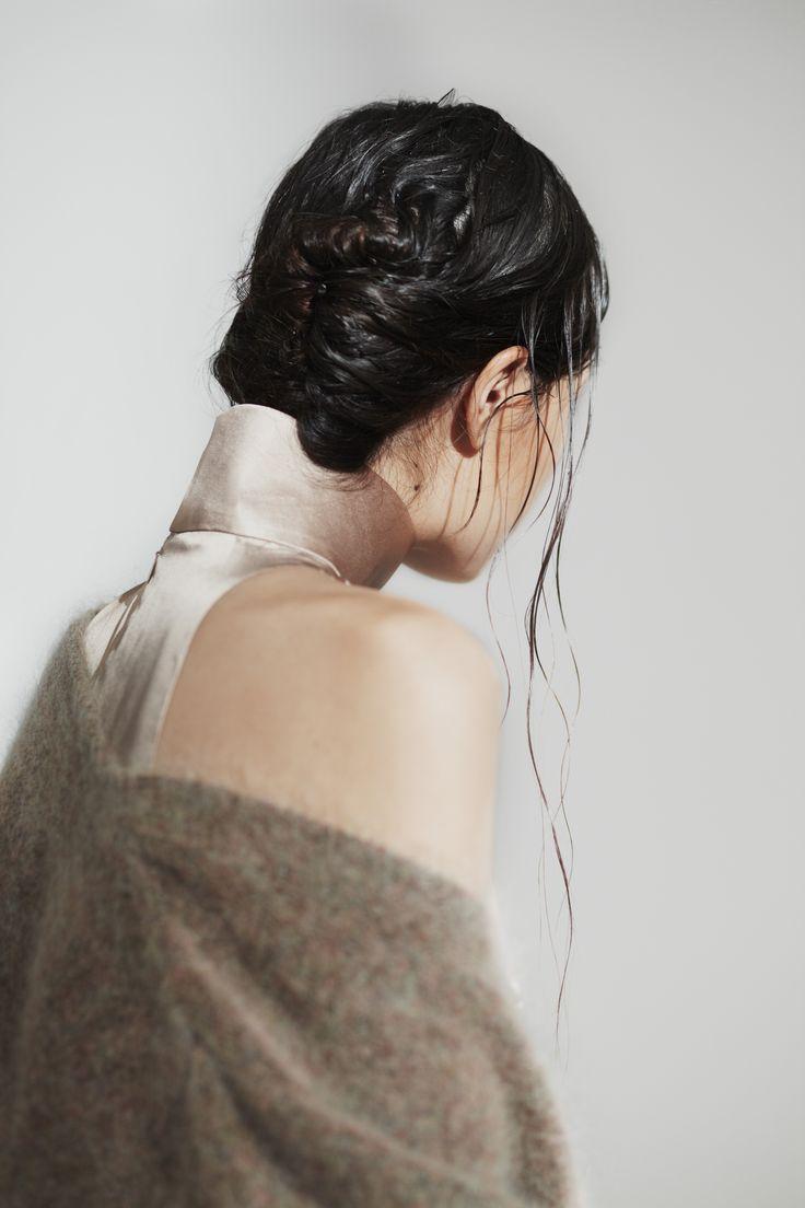 Ava Silk Dress Eden Mohair Knit Coat