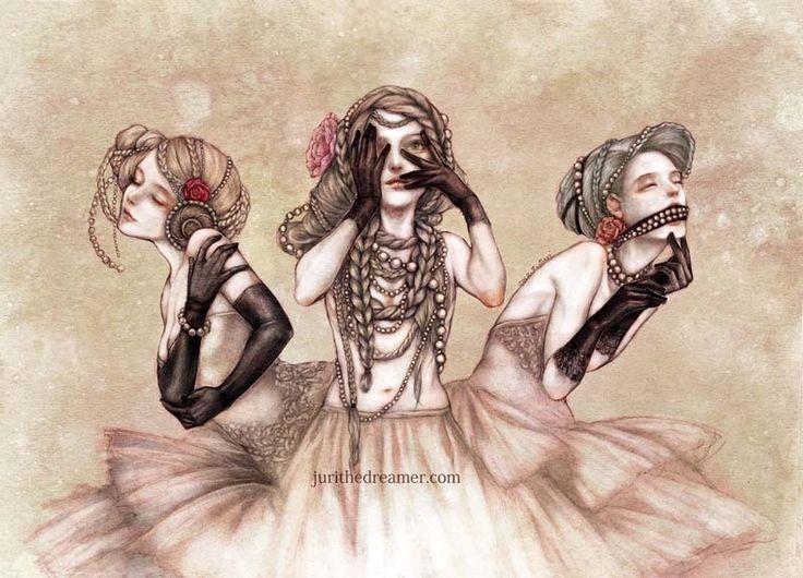 Three wise by jurithedreamer.deviantart.com on @deviantART