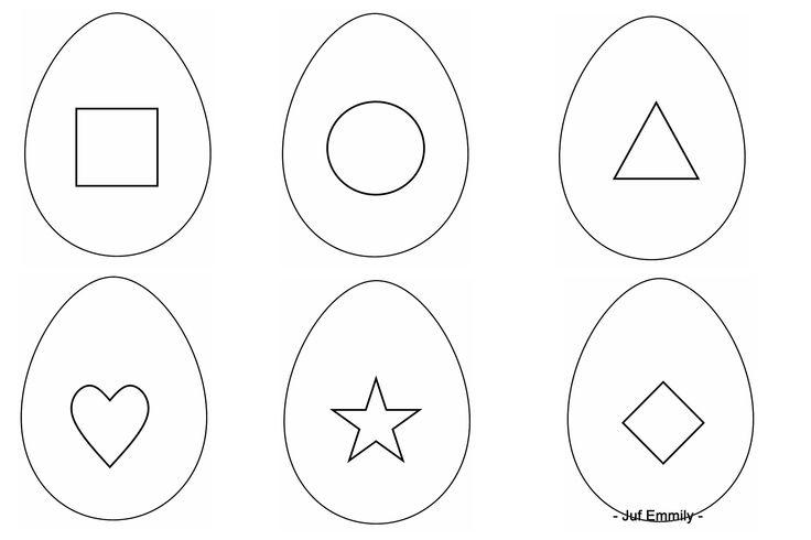 Thema Pasen / Thema Eieren Zoek het juiste eitje (Juf Emmily)