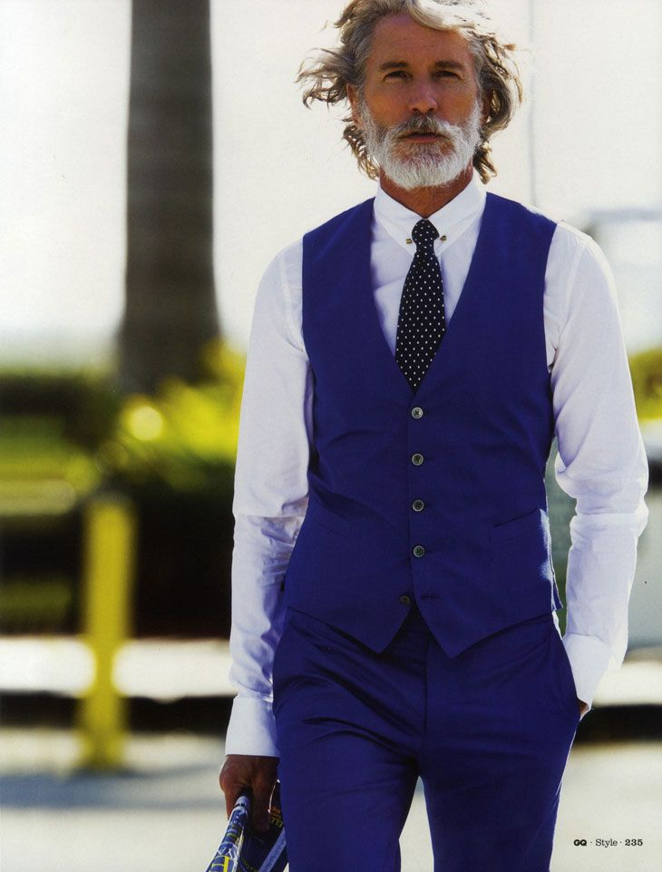 mensfashionworld:  Aiden Shaw by Hans Feurer for GQ Style UK