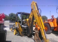 2005 JCB 214 3CX Backhoe Fire Damaged backhoe loader financing apply now www.bncfin.com/apply