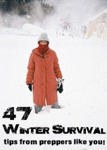 47 Winter Survival Tips - Dan's Survival Depot