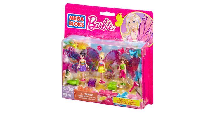 Barbie - Build 'n Play Fairy Gala | Mega Bloks
