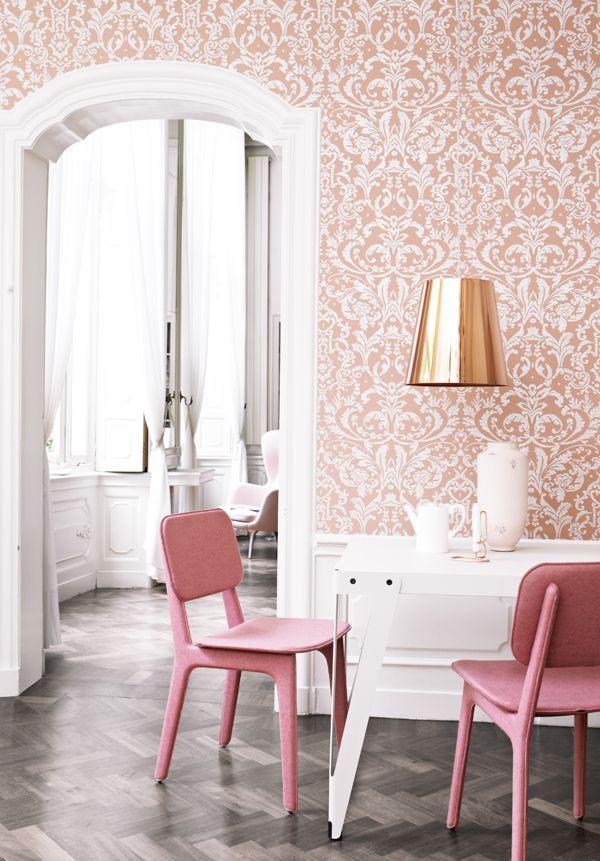 Pink + copper