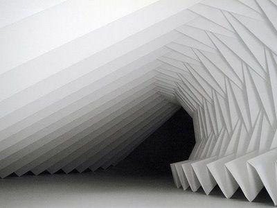 Paper Sculpture by Richard Sweeney