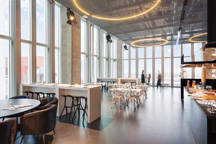 Nhow Rotterdam hotel by Oma, Rotterdam – The Netherlands