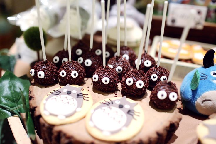 Chiro's 1st Birthday Party With Totoro Theme; Dreamflavours Celebration Jakarta, PartyPlanner, Birthday Cake, Totoro Cake Pop, Totoro Cookies