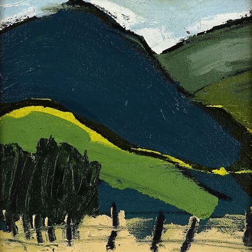Landscape oil painting 13-094