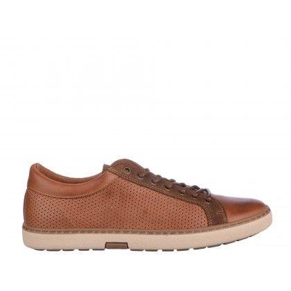 Pantofi casual Gryxx maro, din piele naturala