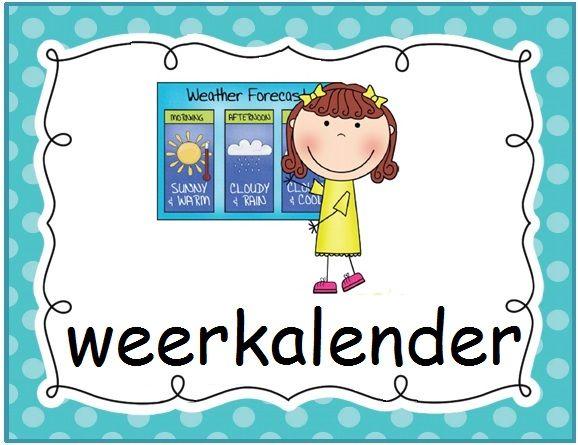 Klastaken: weerkalender. Polka dot © Sarah Verhoeven
