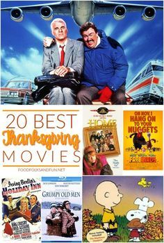 Here's a list of 20 super fun Thanksgiving Movies. There's Thanksgiving movies for kids, couples, teens, and families. There's something for everyone on this list!