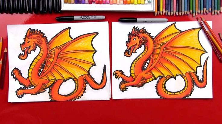 How To Draw A Dragon (Art Club leden)