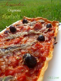 Tarte tomates oignons anchois