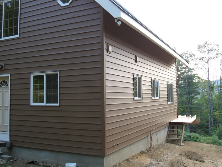 20 best images about vinyl log siding on pinterest E log siding