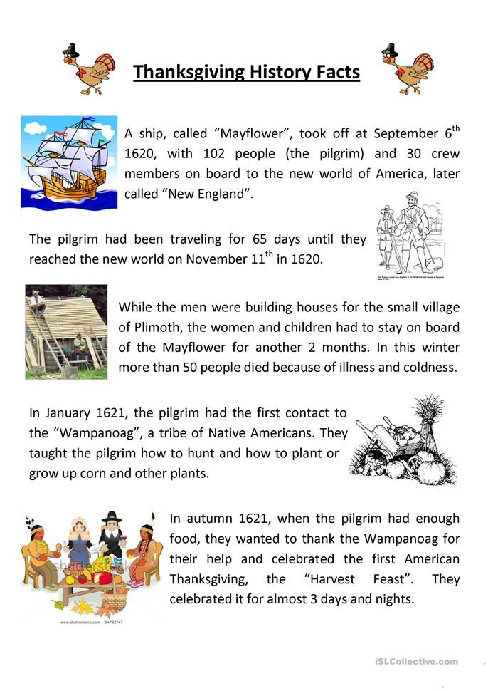 Teaching Thanksgiving History Teaching Thanksgiving Thanksgiving History Thanksgiving Reading Comprehension The first thanksgiving worksheets