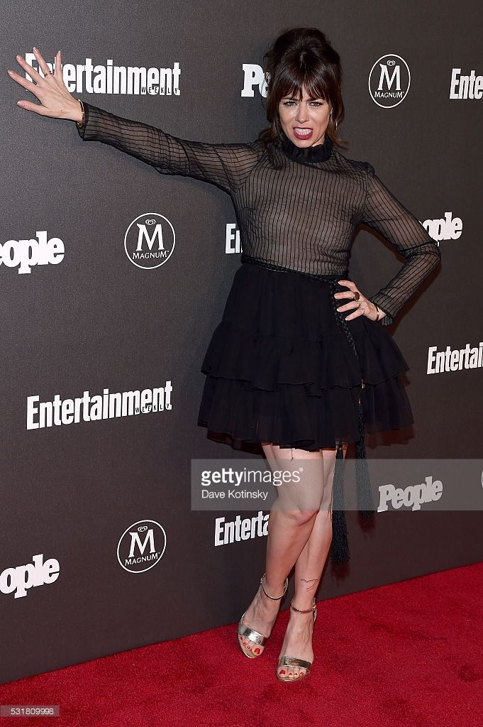 <a gi-track='captionPersonalityLinkClicked' href=/galleries/search?phrase=Natasha+Leggero&family=editorial&specificpeople=4760301 ng-click='$event.stopPropagation()'>Natasha Leggero</a> attends the Entertainment Weekly & People Upfronts party 2016 at Cedar Lake on May 16, 2016 in New York City.