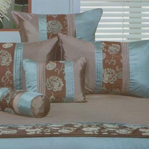 Quilt Cover Set Jemma Teal | Bed Linen Online