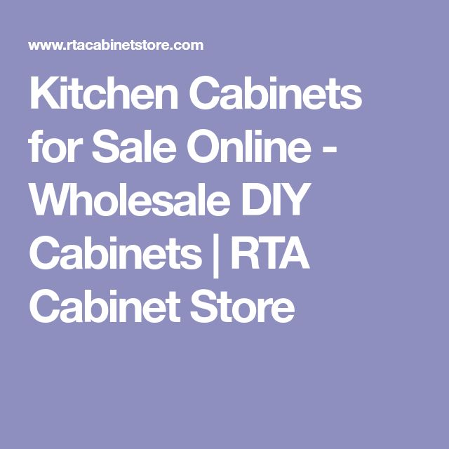 Kitchen Cabinets for Sale Online - Wholesale DIY Cabinets | RTA Cabinet Store