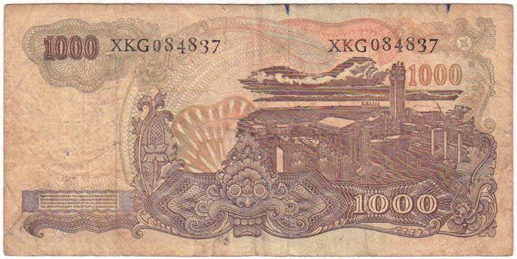 1000 rupiah jadul