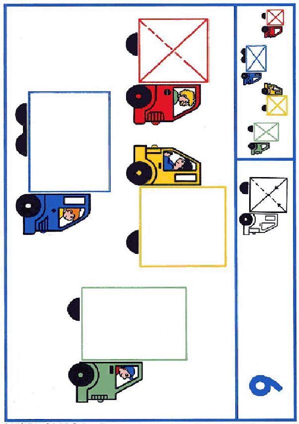 ber ideen zu vorschule formen basteln auf pinterest vorschulleraktivit ten vorschule. Black Bedroom Furniture Sets. Home Design Ideas