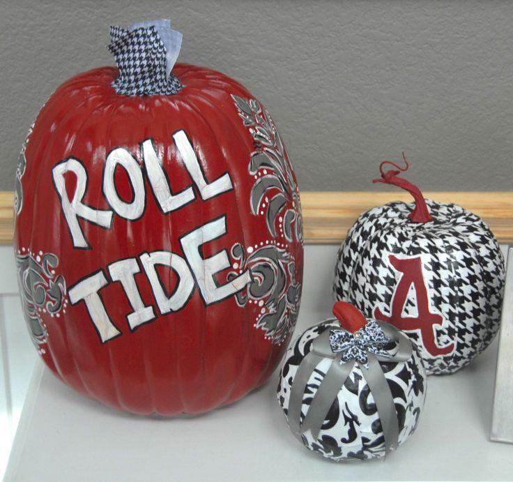 Alabama: Roll Damn Pumpkin.