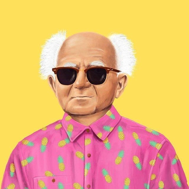 David Ben-Gurion  This Creative Artist Re-Imaged 18 World Leaders As Hipsters • Page 2 of 5 • BoredBug