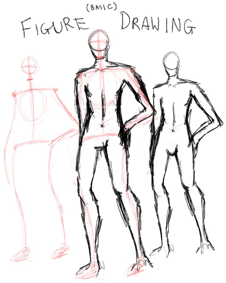 This figure drawing technique is a part of this collection as within my piece it features two people with their bodies (almost) fully viewed. As part of my design the people are the focal point of the drawing. Because of this point, the figures have to look identifiable. This technique on how to approach figures assures I can fulfil that.