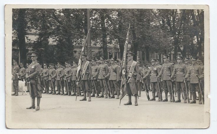 1st or 2nd Battalion in Germany c.1920s/30s.