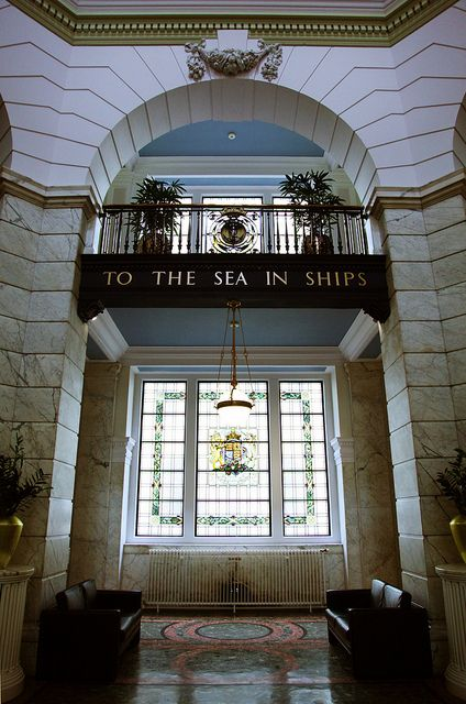 To The Sea In Ships: Port of Liverpool Building, such a fabulous building.