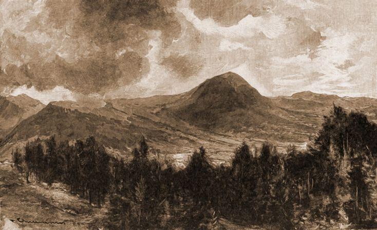 Vatra Dornei, muntele Ouşorul