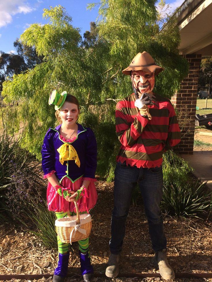 https://www.costumecollection.com.au/the-mad-hatter-tween-costume.html  https://www.costumecollection.com.au/freddy-krueger-horror-costume.html