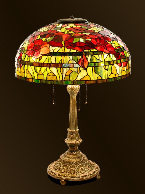 91 Best Tiffany Stained Glass Lamps Images On Pinterest
