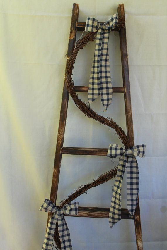 14 best images about wooden ladders on pinterest for Decor ladder