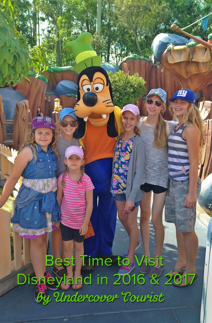 best time to visit disneyland in 2019 and 2020