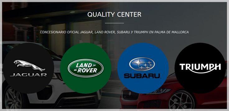 Concesionario Oficial #LandRover en #PalmadeMallorca  www.qualitycenterbalears.com