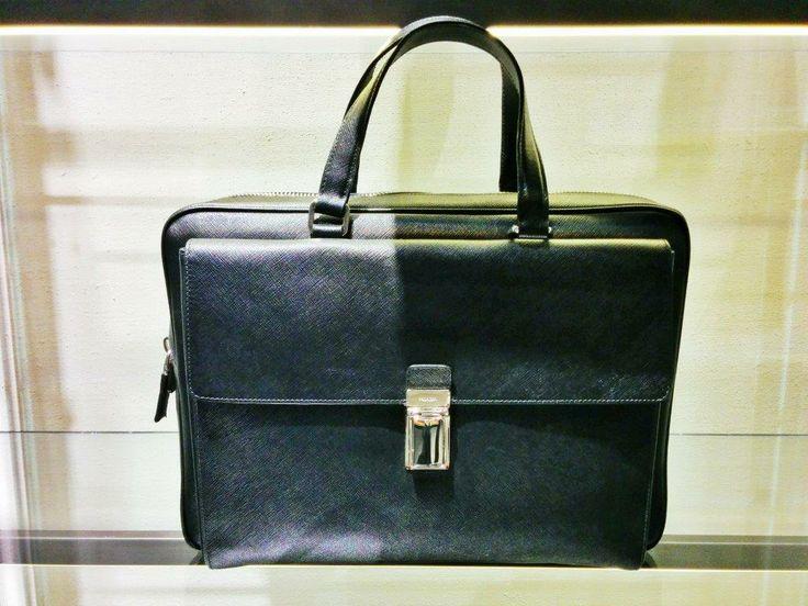 Prada #bag #saffiano #SpringSummer #collection