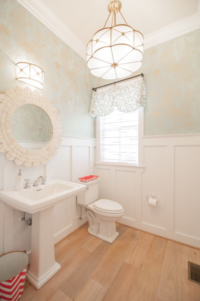 17 best ideas about wainscoting bathroom on pinterest for Bathrooms with wainscoting photos