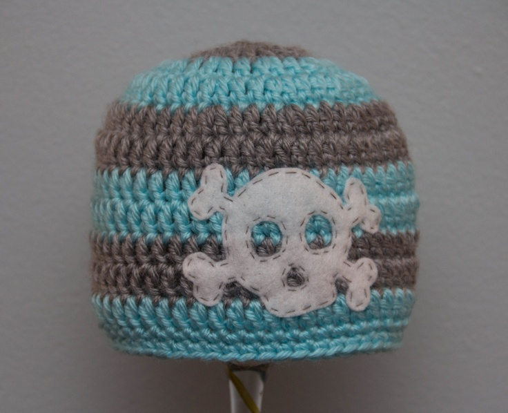 Crochet Skull : Crochet Knits Yarns, Hats Beanie, Crochet Boy Hat Skull, Crochet Hats ...