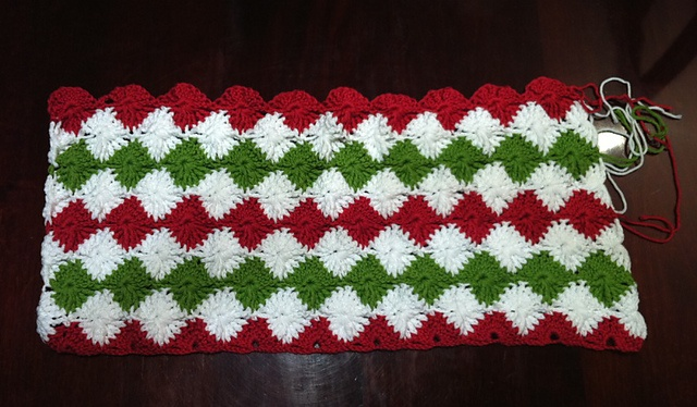 Catherine Wheel Stitch Afghan Pattern